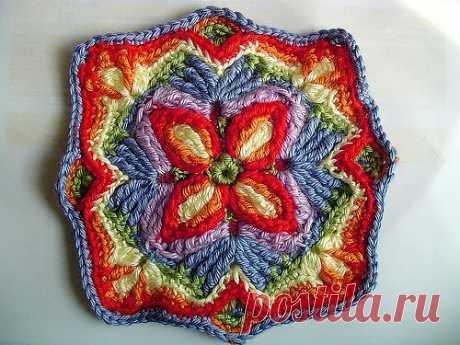 Overlay Crochet (накладывать слой).