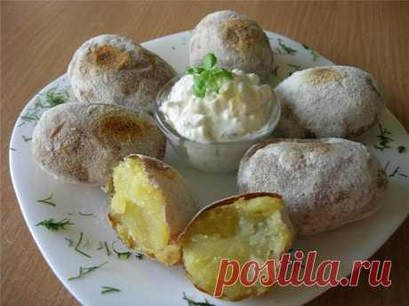 Печеная картошка - любимый рецепт Людмилы Зыкиной   Четыре вкуса