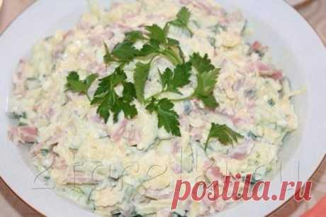 Салат «Неженка» - Простые рецепты Овкусе.ру