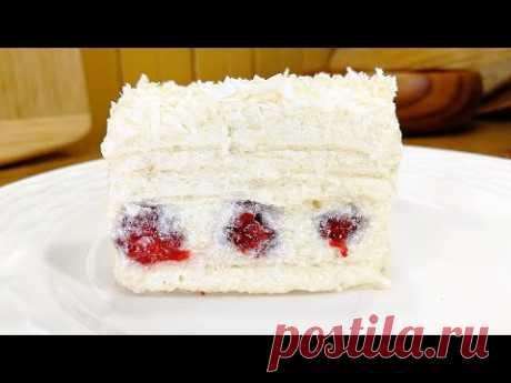 ОБАЛДЕННЫЙ Тортик БЕЗ ВЫПЕЧКИ - Легкий Ленивый Десерт к Чаю