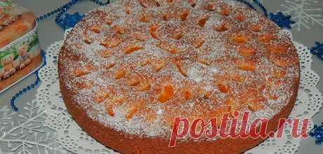 Пирог с мандаринами: простые рецепты с фото