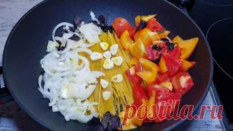 Вкусный УЖИН в одной посуде на каждый день за 20 минут. Что приготовить быстро и вкусно