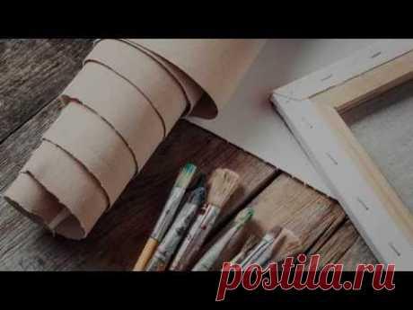 Самостоятельное изготовление холстов для живописи