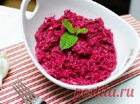 Правильный салат для похудения с тунцом и свеклой  на 100грамм - 55.84 ккалБ/Ж/У - 6.72/0.63/6.11