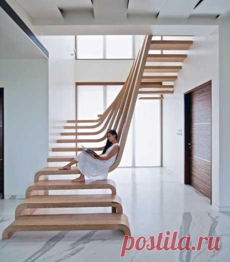 17 оригинальных лестниц: каждая потрясает воображение