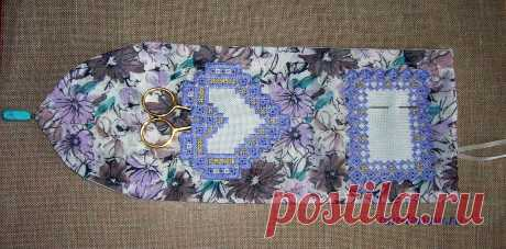 Оригинальная сумочка-игольница « Мир моих увлечений