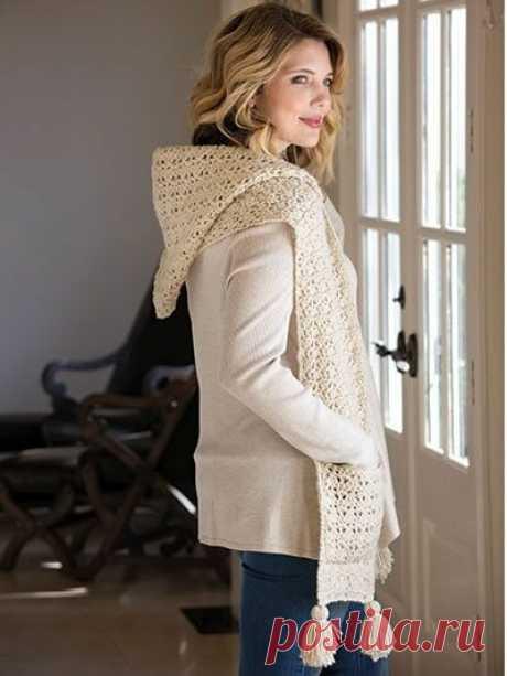 Подборка необычных вязаных шарфов для осени и зимы | Только handmade | Яндекс Дзен