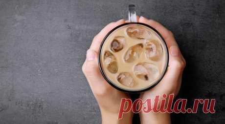 Холодный кофе, что делать, если хочешь приготовить его сам, как в кафе