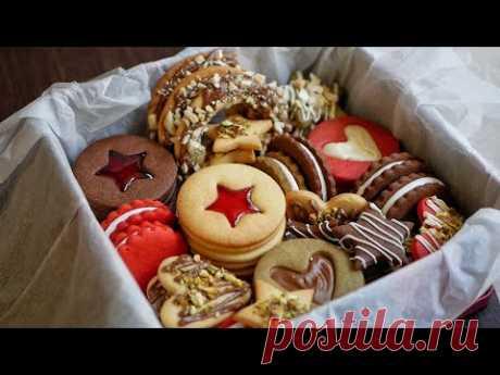Коробка Печенья 🎁 12 Видов ПЕЧЕНЬЯ 🍪 из одного теста!