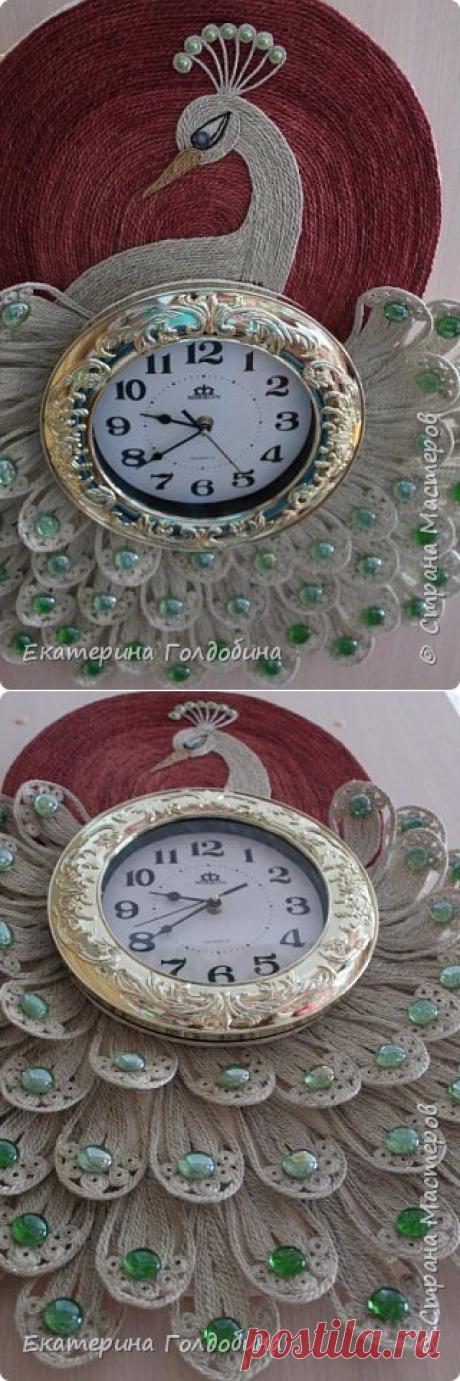 Часы- павлин | Страна Мастеров