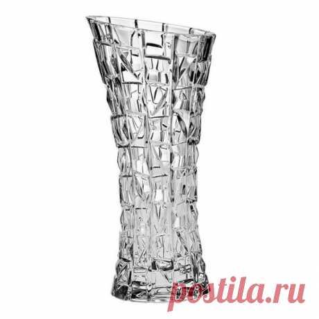 """Хрустальная Ваза """"Patriot"""" (Патриот) 33 см, Crystal Bohemia купить в Москве +7(495)1055156"""