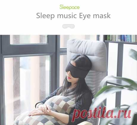 Sleepace Comfortable Washable Eye Mask Built-in 3.5mm HIFI Stereo Noise Cancelli - US$15.99