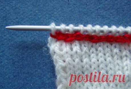 Техника вязания. Подборка (Ч. 1)   Домохозяйки