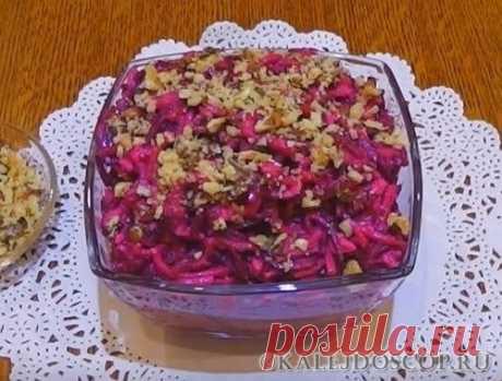 Салаты из вареной свеклы. 10 рецептов простых и вкусных салатов на каждый день и праздники | Калейдоскоп