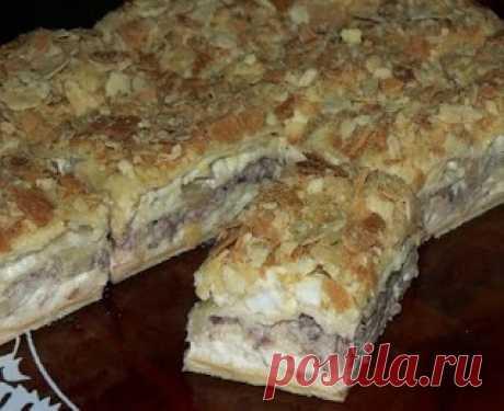 Самые вкусные рецепты: Салат-Наполеон