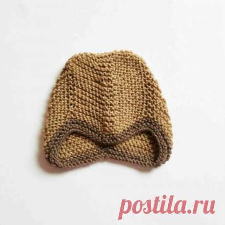Комплект пинетки и шапка для новорожденного » «Хомяк55» - всё о вязании спицами и крючком