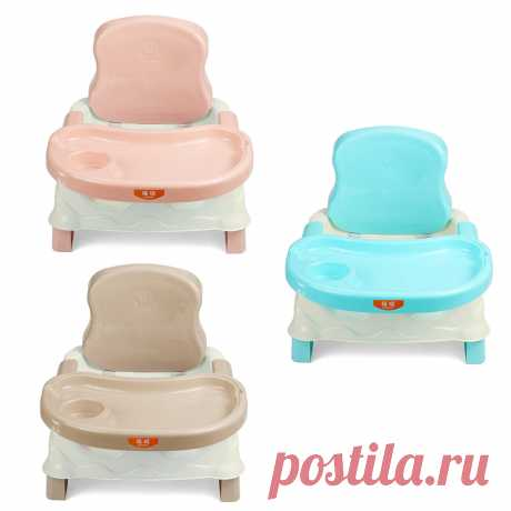 baby dining chair children's dinette baby learning chair portable folding chair Sale - Banggood.com