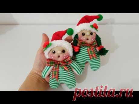 Мини-куколки из носков