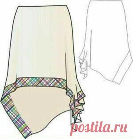 Моделирование интересной юбки