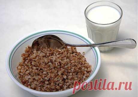 Лечебная гречнево-кефирная диета .