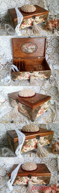 Швейная шкатулка | Страна Мастеров