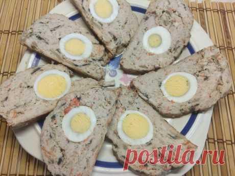 Мясной рулет из фарша с яйцом и грибами - рецепт с фото пошагово Мясной рулет из фарша с яйцом и грибами - пошаговый кулинарный рецепт приготовления с фото, шаг за шагом.
