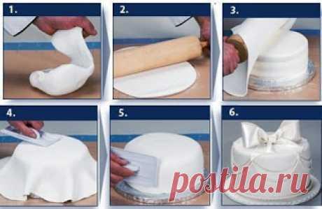 Кулинарный блог!Лучшие рецепты.: Как сделать мастику для торта своими руками?