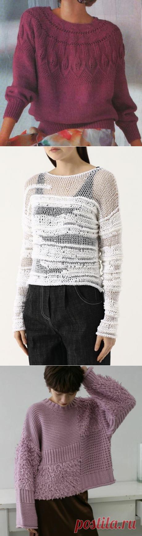 Оригинальное сочетание = оригинальное вязаное изделие. Идеи и схемы. | Марусино рукоделие | Яндекс Дзен