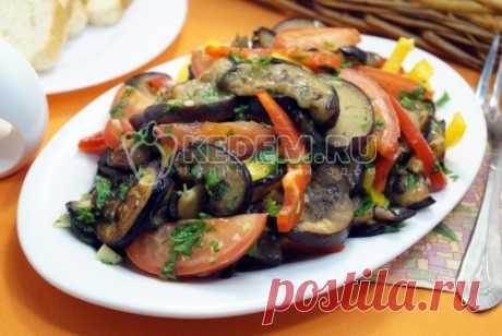 Салат из баклажанов рецепт – пошаговые рецепты с фото