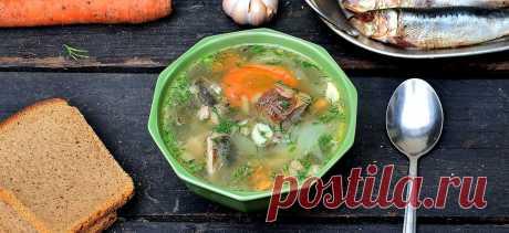 Суп из сельди или уха из селедки именно так можно назвать это блюдо