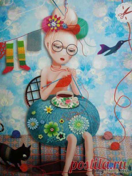 12 маленьких секретов для рукодельниц: Дневник группы «ВЯЖЕМ ПО ОПИСАНИЮ»: Группы - женская социальная сеть myJulia.ru
