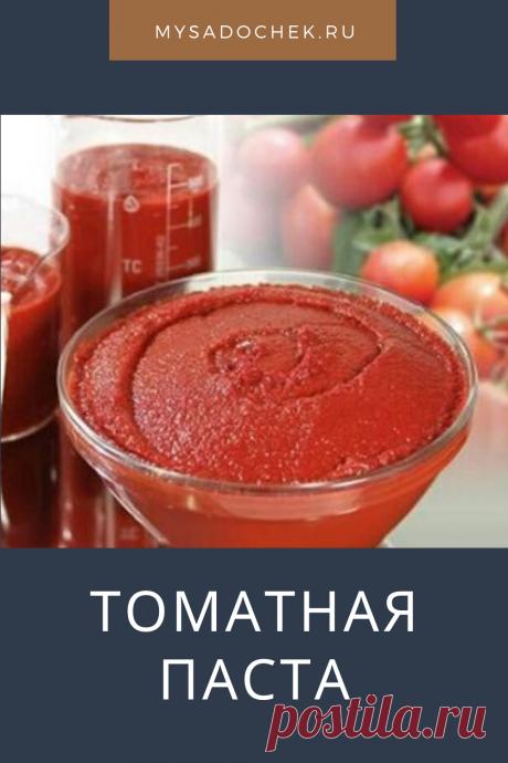 Без преувеличения можно сказать — томатная паста незаменимый продукт в приготовлении многих блюд. У опытной хозяйки всегда найдется в холодильнике баночка этого важного продукта.