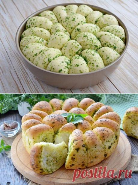 ВСЕ по ТЕМІ: Пшеничный хлеб с зеленью и чесноком. Удивительный рецепт!