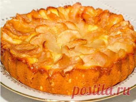 Быстрый яблочный пирог   Самые вкусные кулинарные рецепты