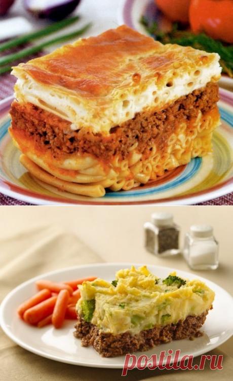 Мясные запеканки: 3 классических рецепта / Простые рецепты