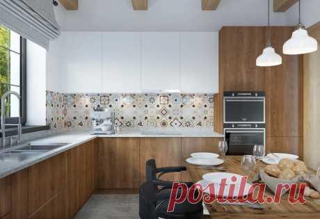 La casa de la semana: la villa confortable con los dormitorios en la buhardilla — INMYROOM