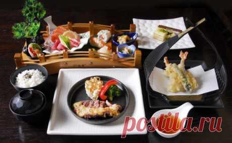 Японская кухня: застольный этикет, сервировка, ингредиенты блюд, рецепты | КУЛИНАРИЯ - всё PRO еду!