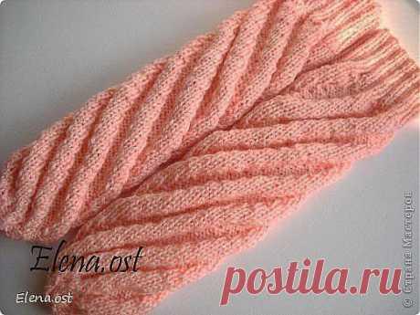 Вязание: носки по спирали без вывязывания пятки.