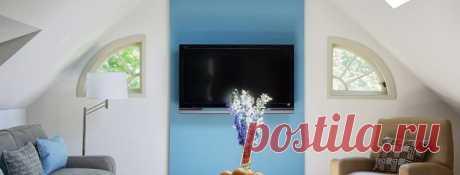 Варианты размещения телевизора — Pro ремонт