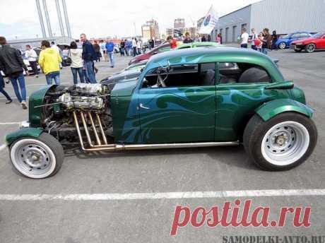 """Авто самоделка Custom """"Hot-Rod"""": фото и описание постройки автомобиля"""
