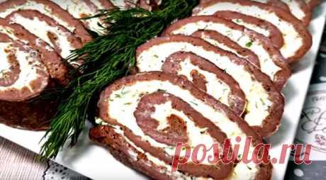 Закуска из печени на праздник - Лучший сайт кулинарии