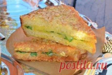 Хрустящие бутерброды на завтрак   На быструю руку   Само Совершенство