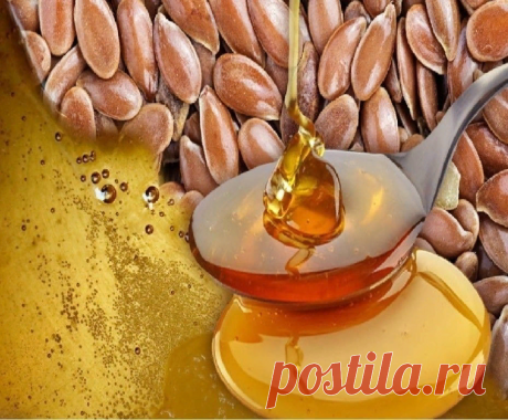 Мёд + семена льна = чистое удовольствие для ЖКТ! Очищаем кишечник, укрепляем сосуды и не только...!   Лучший источник омега-3!