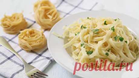 Паста в сливочно - сырном соусе: рецепт вкуснейшего блюда