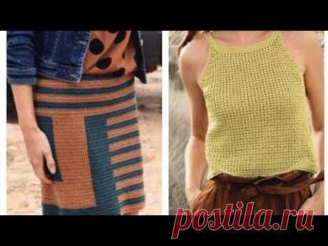 Дизайнерскиелетние трикотажные модели - Designer summer knitwear