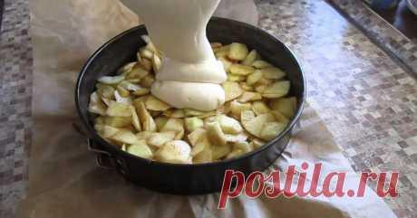 Гениальная шарлотка с невероятно вкусным заварным кремом: подробный рецепт — Интересные советы