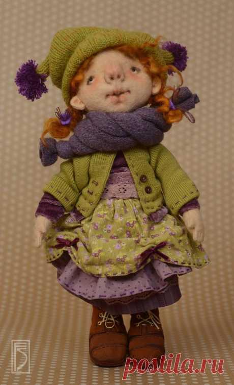 Шьем игровую куклу из фетра для больших и маленьких девочек - Ярмарка Мастеров - ручная работа, handmade