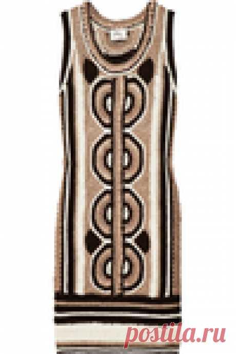Марокканское этно-платье крючком от Milly