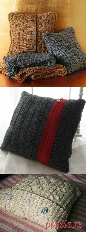 Новая жизнь старых свитеров! / Интересные идеи декора / PassionForum - мастер-классы по рукоделию