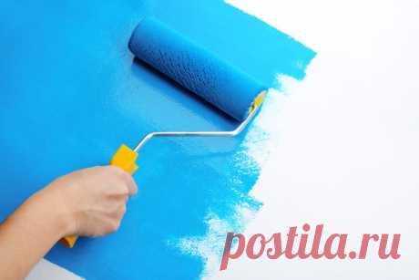 Как клеить и красить обои под покраску? | Рекомендательная система Пульс Mail.ru